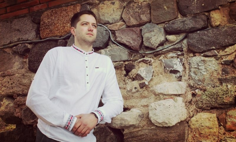 мъжка риза с шевица